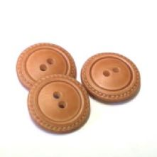 Leather Look Two Hole Button